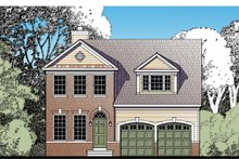 House Design - Traditional Exterior - Front Elevation Plan #1029-59