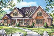 Traditional Style House Plan - 4 Beds 4.5 Baths 3080 Sq/Ft Plan #929-778 Exterior - Front Elevation