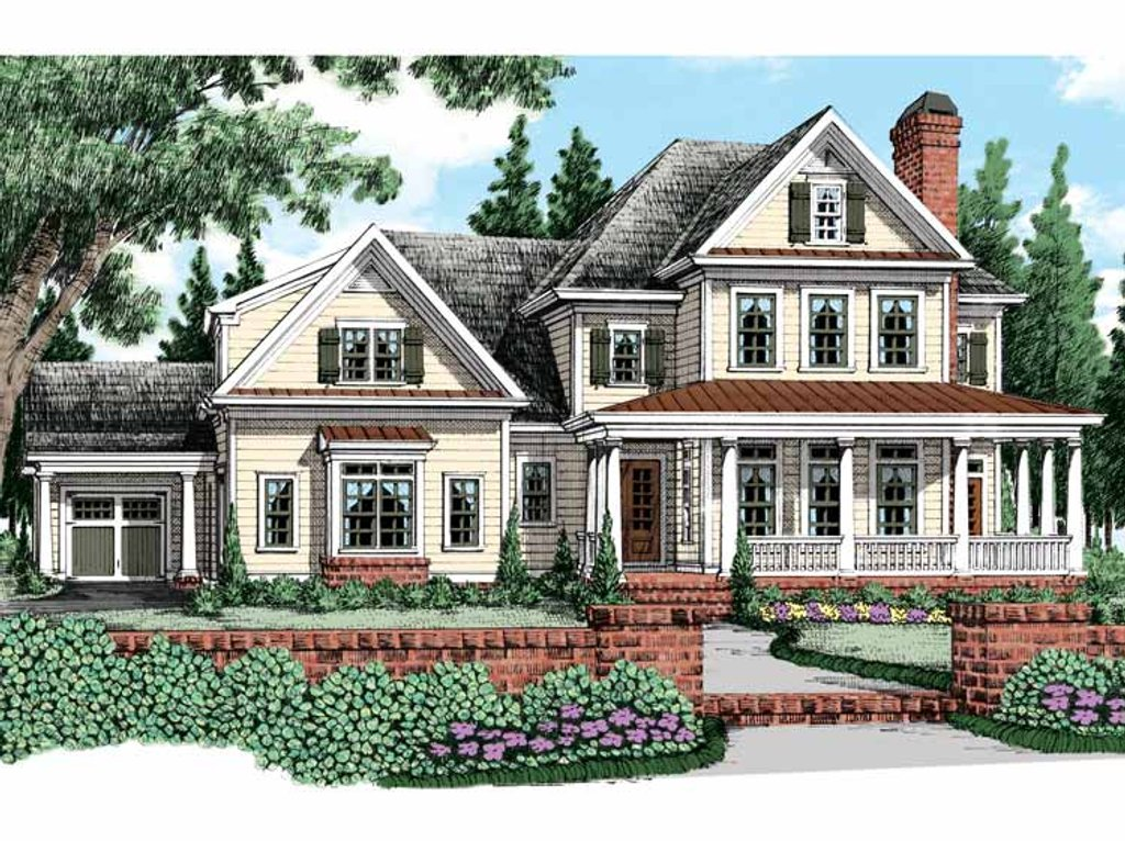 farm house plan traditional style house plan 4 beds 4 5 baths 3956 sq ft 11620