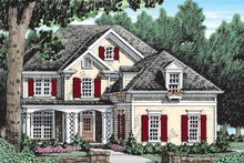 House Design - Country Exterior - Front Elevation Plan #927-913