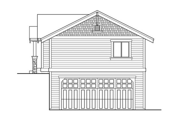 Craftsman Floor Plan - Other Floor Plan Plan #132-525