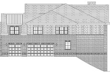 House Plan Design - European Exterior - Other Elevation Plan #1057-2