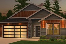 House Design - Ranch Exterior - Front Elevation Plan #943-50