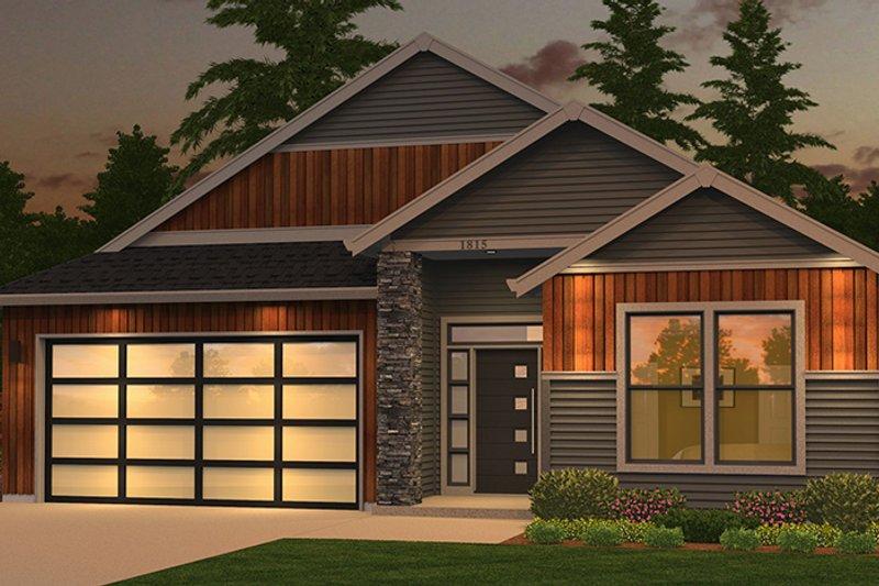 Ranch Exterior - Front Elevation Plan #943-50 - Houseplans.com