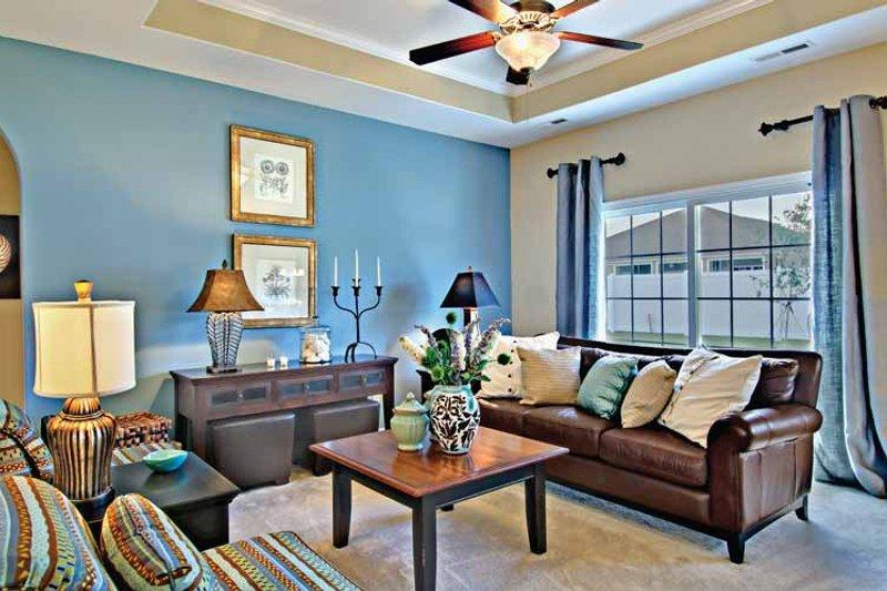Country Interior - Family Room Plan #930-362 - Houseplans.com