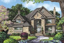 Country Exterior - Front Elevation Plan #929-835