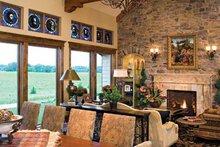 Architectural House Design - European Interior - Family Room Plan #51-1073