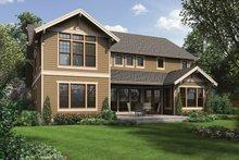 House Design - Craftsman Exterior - Rear Elevation Plan #48-905