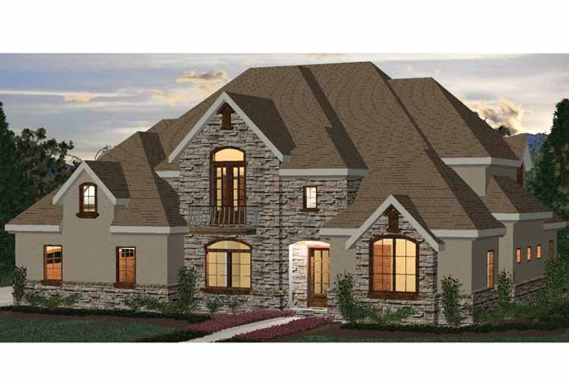 Country Exterior - Front Elevation Plan #937-10 - Houseplans.com