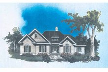Architectural House Design - Traditional Exterior - Front Elevation Plan #929-521