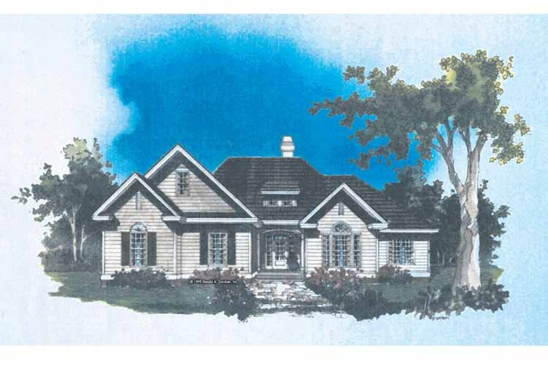 Dream House Plan - Traditional Exterior - Front Elevation Plan #929-521
