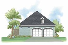 Home Plan Design - Country Exterior - Rear Elevation Plan #930-397