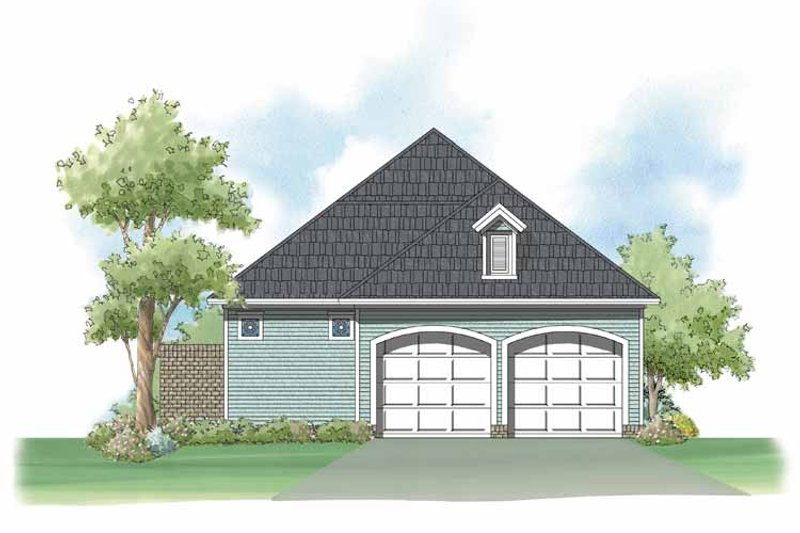 Country Exterior - Rear Elevation Plan #930-397 - Houseplans.com