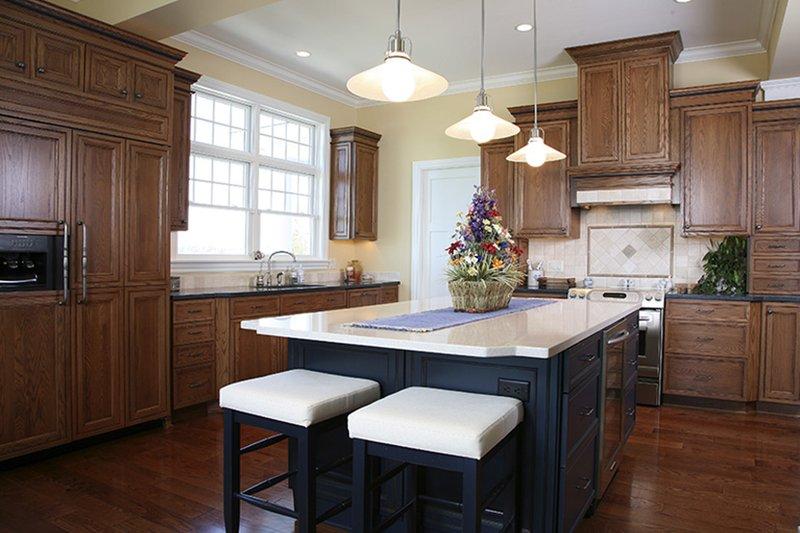 Colonial Interior - Kitchen Plan #928-298 - Houseplans.com