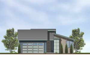 Exterior - Front Elevation Plan #569-2