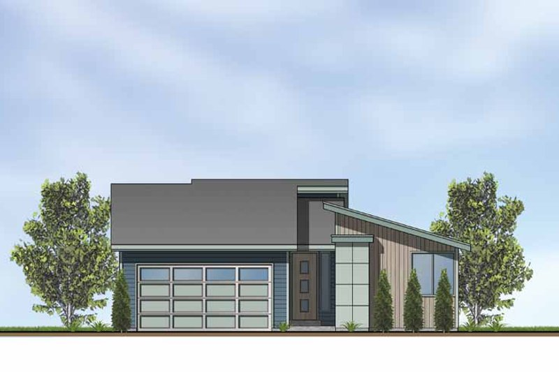 Exterior - Front Elevation Plan #569-2 - Houseplans.com