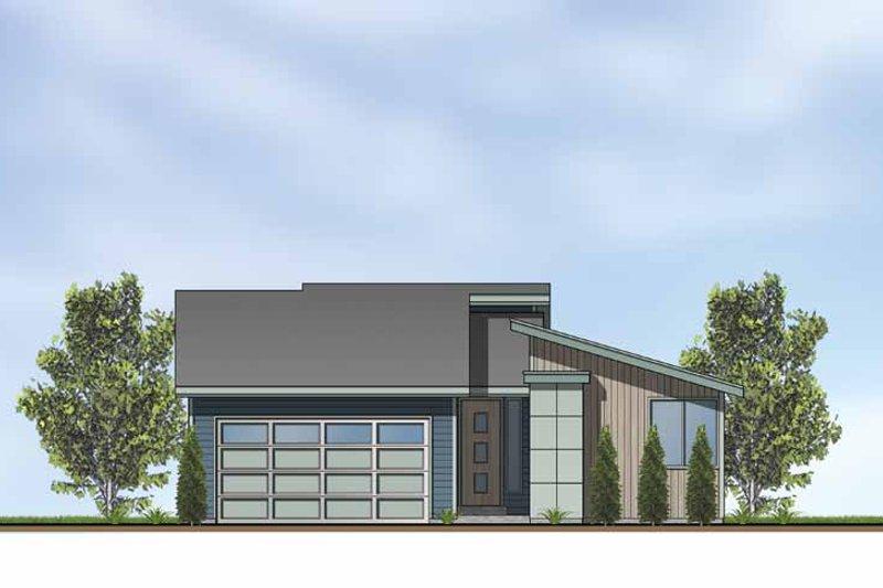 Architectural House Design - Exterior - Front Elevation Plan #569-2