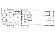 Country Style House Plan - 3 Beds 3.5 Baths 2843 Sq/Ft Plan #928-251 Floor Plan - Main Floor Plan