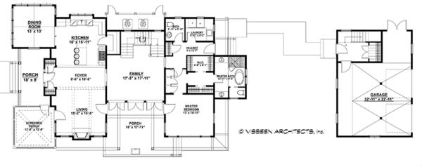 Dream House Plan - Country Floor Plan - Main Floor Plan #928-251