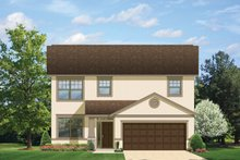 Architectural House Design - Craftsman Exterior - Front Elevation Plan #1058-20