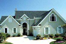 House Plan Design - Traditional Exterior - Front Elevation Plan #453-435