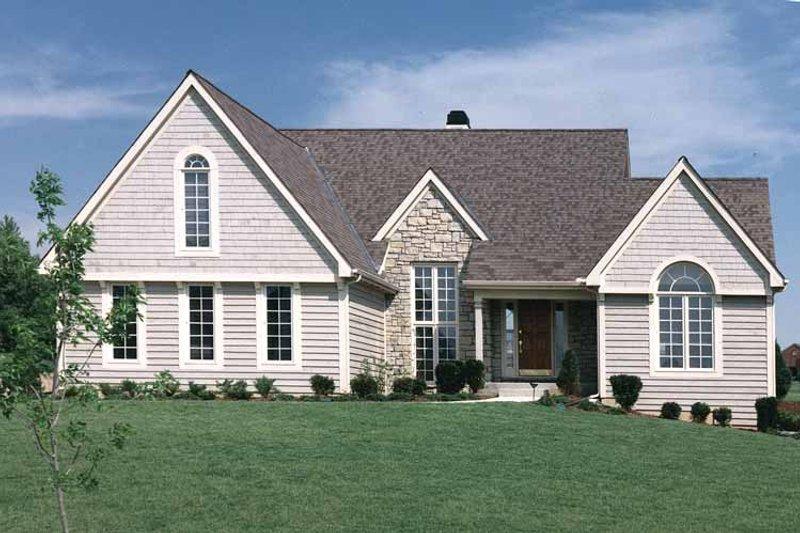 Craftsman Exterior - Front Elevation Plan #46-674