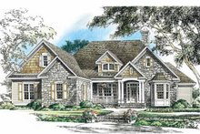 Ranch Exterior - Front Elevation Plan #929-750