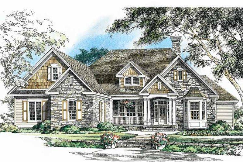 Craftsman Exterior - Front Elevation Plan #929-750 - Houseplans.com