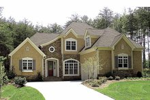 Country Exterior - Front Elevation Plan #453-523