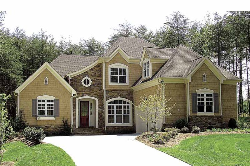 Country Exterior - Front Elevation Plan #453-523 - Houseplans.com
