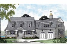 Architectural House Design - Country Exterior - Front Elevation Plan #453-575