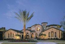 Architectural House Design - Mediterranean Exterior - Front Elevation Plan #1039-2