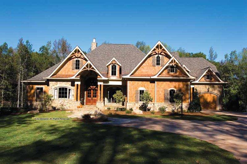 Home Plan - Craftsman Exterior - Front Elevation Plan #54-362