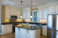 Architectural House Design - Traditional Interior - Kitchen Plan #929-910