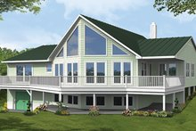 Country Exterior - Front Elevation Plan #1061-12