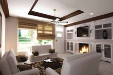 House Plan Design - Contemporary Interior - Family Room Plan #11-272