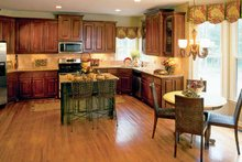 House Plan Design - Colonial Interior - Kitchen Plan #927-872