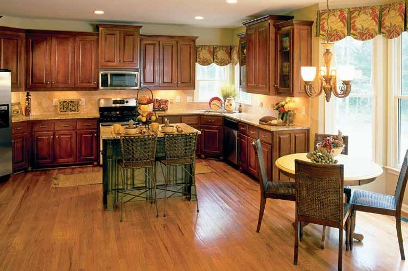 Colonial Interior - Kitchen Plan #927-872 - Houseplans.com
