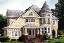 House Plan Design - Craftsman Exterior - Front Elevation Plan #410-3581