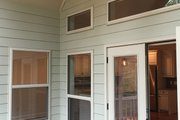 Ranch Style House Plan - 3 Beds 2 Baths 1683 Sq/Ft Plan #437-79 Exterior - Covered Porch