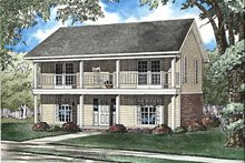 House Plan Design - Classical Exterior - Front Elevation Plan #17-3239