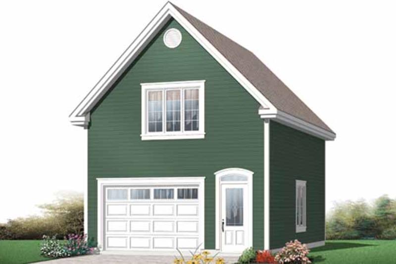 Exterior - Front Elevation Plan #23-2469 - Houseplans.com