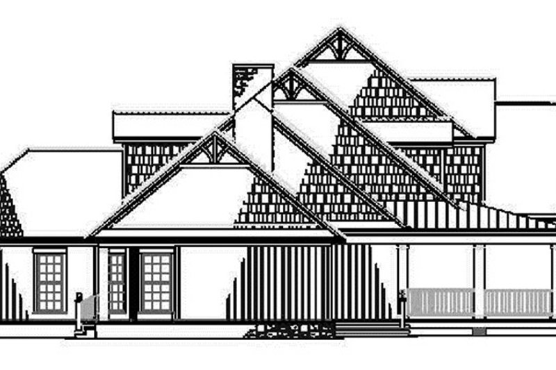 Country Exterior - Other Elevation Plan #17-2767 - Houseplans.com