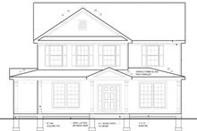 Traditional Exterior - Front Elevation Plan #1053-53