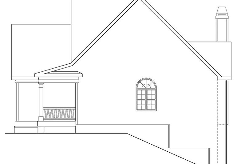 Country Exterior - Other Elevation Plan #927-127 - Houseplans.com