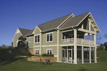 House Plan Design - Traditional Exterior - Outdoor Living Plan #928-165