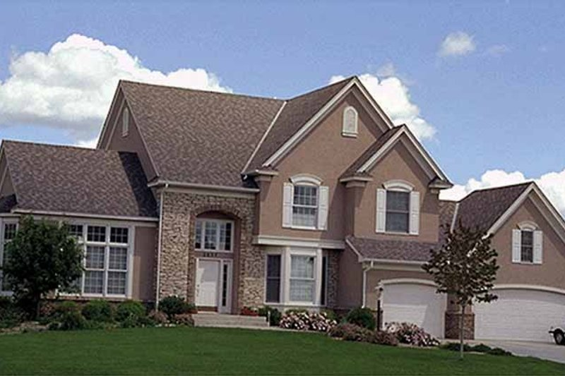 Dream House Plan - Traditional Exterior - Front Elevation Plan #51-894