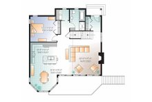 European Floor Plan - Main Floor Plan Plan #23-2511