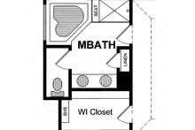 Traditional Interior - Master Bathroom Plan #316-275