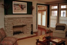 Dream House Plan - Traditional Interior - Family Room Plan #17-2629